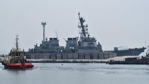 Le destroyer américain USS Carney est arrivé au port d'Odessa - Sputnik France