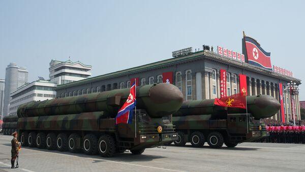 Un missile balistique nord-coréen - Sputnik France
