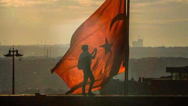 Антиправительственные выступления против исламизации Турции - Sputnik France