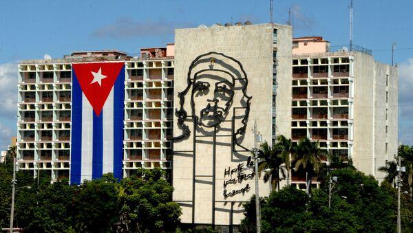 Drapeau cubain à La Havane - Sputnik France