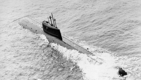 K-278 Komsomolets, sous-marin nucléaire d'attaque de classe Mike - Sputnik France