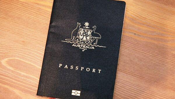 Un passeport australien - Sputnik France