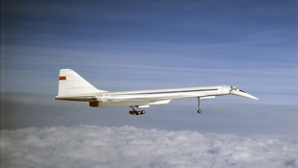 Un Tupolev Tu-144 - Sputnik France