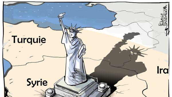Rester en Syrie: les USA jouent la carte kurde malgré les mises en garde de la Turquie - Sputnik France