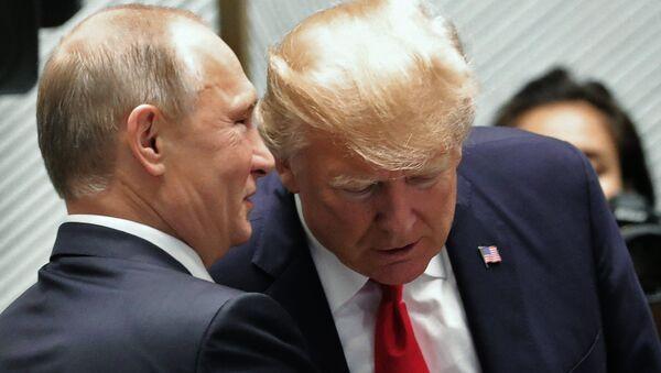 Vladimir Poutine et Donald Trump - Sputnik France