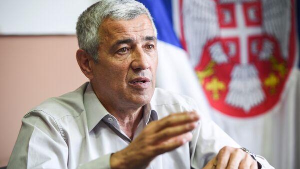 Оливер Ивановић, 5. мај 2017. - Sputnik France