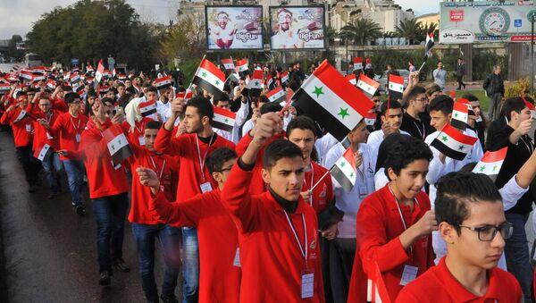 Malgré la guerre, les jeunes Syriens décrochent des médailles aux Olympiades de sciences - Sputnik France