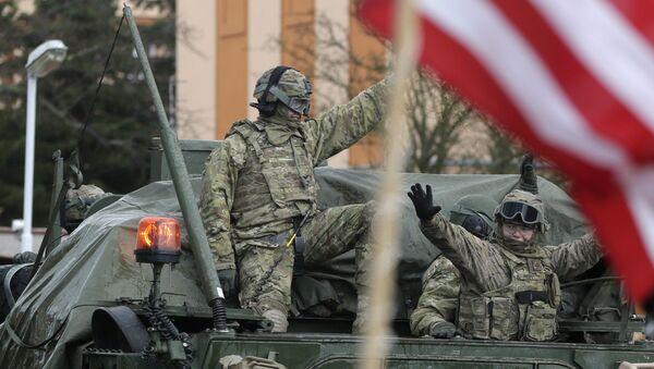 Militaires US - Sputnik France