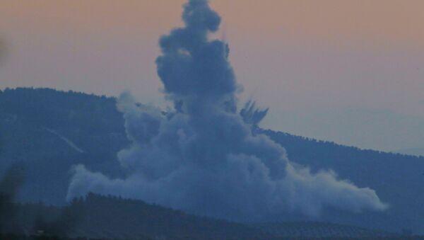 Explosion près d'Afrine, en Syrie - Sputnik France