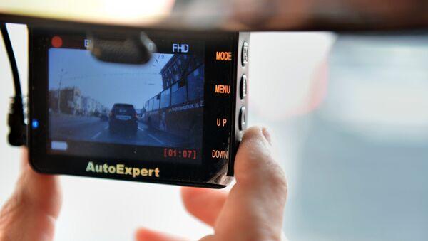 Une caméra de tableau de bord - Sputnik France