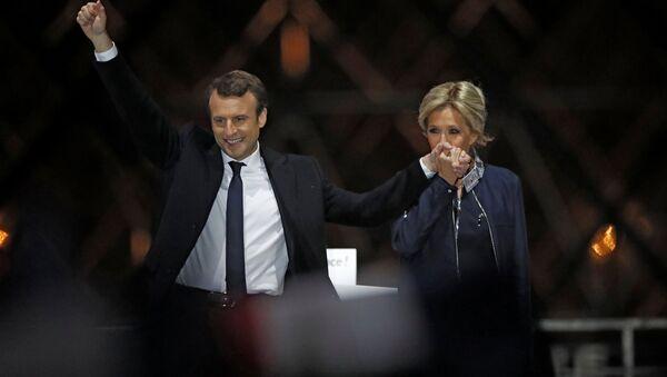Brigitte et Emmanuel Macron - Sputnik France