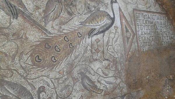 Mosaïque byzantine découverte par des sapeurs syriens - Sputnik France