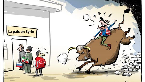 Les actions unilatérales US en Syrie ont rendu la Turquie furieuse - Sputnik France