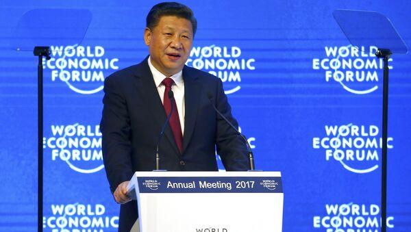 Xi Jinping au Forum de Davos 2017 - Sputnik France