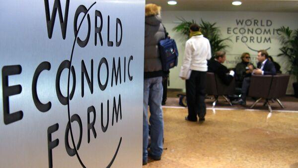 Forum économique mondial, Davos - Sputnik France