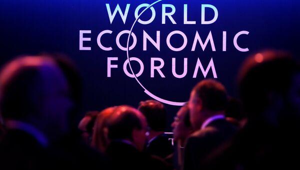 Le forum économique de Davos - Sputnik France