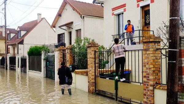 Inondations à Paris - Sputnik France