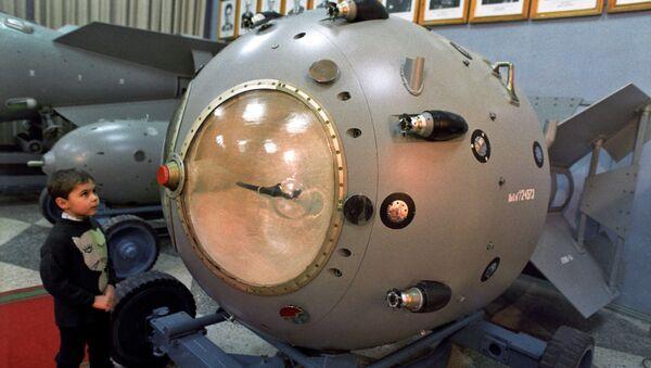 Une réplique de la première bombe nucléaire soviétique - Sputnik France
