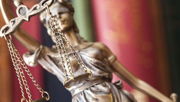 Статуя богини правосудия Фемиды - Sputnik France