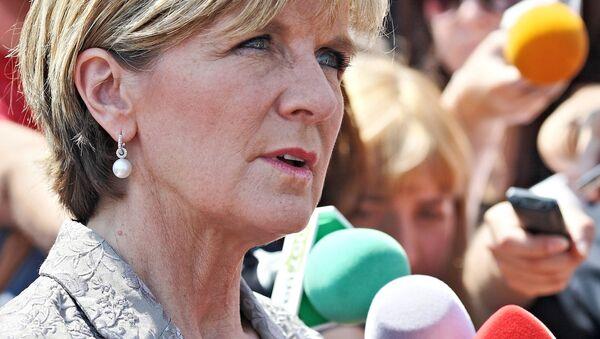 La ministre australienne des Affaires étrangères Julie Bishop - Sputnik France