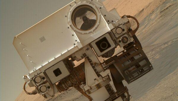 Le rover Curiosity sur Mars - Sputnik France