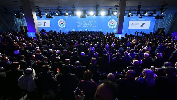 Le Congrès pour le dialogue national en Syrie se déroule à Sotchi - Sputnik France