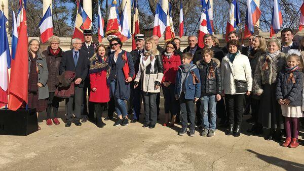 Церемония памяти в Монпелье в честь 75-летия окончания Сталинградской битвы - Sputnik France