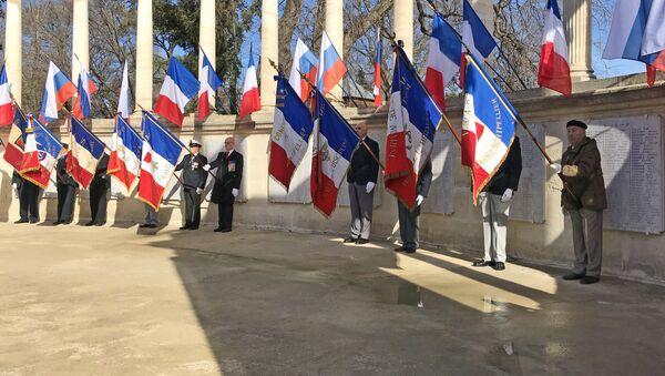 Cérémonie commémorative à Montpellier - Sputnik France