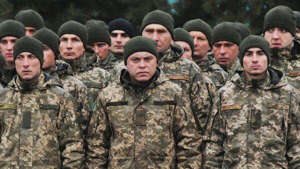 Soldats ukrainiens - Sputnik France