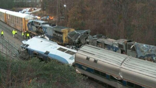 Collision de trains en Caroline du Sud - Sputnik France
