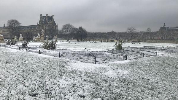 Paris sous la neige - Sputnik France