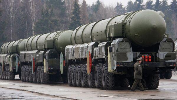 Topol strategic missile complex. File photo - Sputnik France
