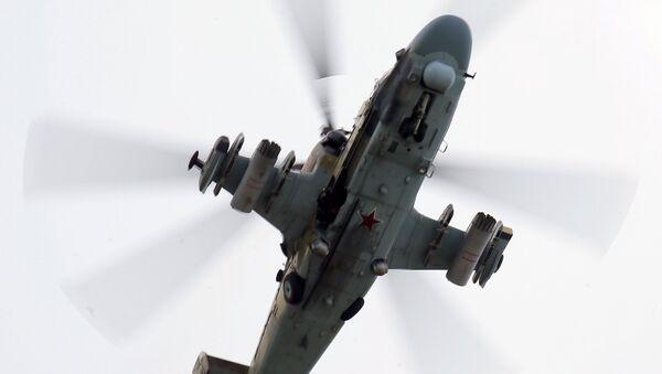 Un hélicoptère Kamov Ka-52 Alligator - Sputnik France