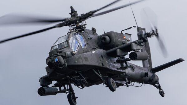 Un hélicoptère AH-64 Apache - Sputnik France