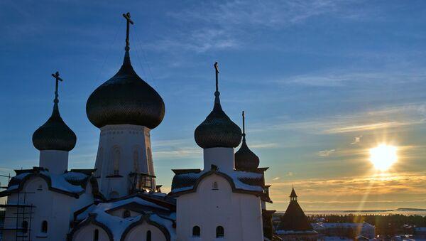 L'hiver aux îles Solovki - Sputnik France