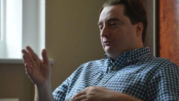Главный редактор украинского интернет-издания Страна.ua Игорь Гужва - Sputnik France