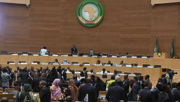 L` Assemblée des chefs d'État et de gouvernement de l'Union africaine, à Addis-Abeba - Sputnik France