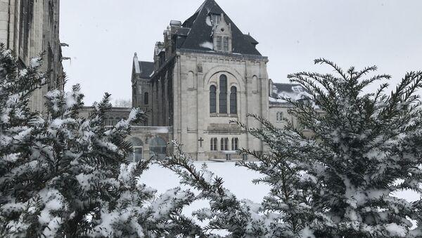 Париж под снегом, 9 февраля 2018 - Sputnik France