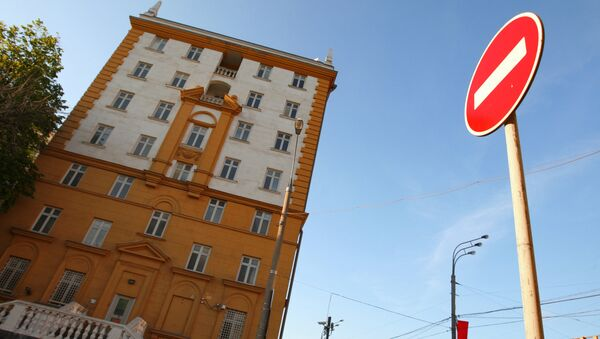 Ambassade américaine à Moscou - Sputnik France