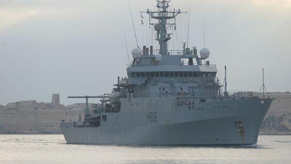HMS Enterprise - Sputnik France