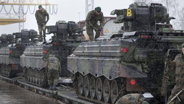 L'Allemagne, «fer de lance» de l'Otan? «Pas de menace pour la Russie» - Sputnik France