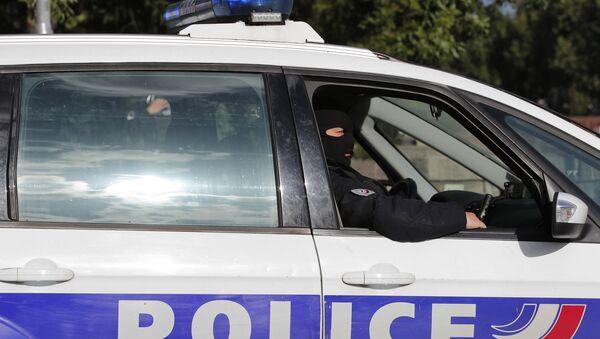 Une voiture de police française - Sputnik France