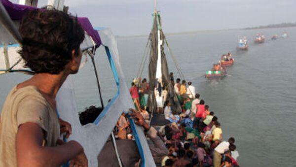 Les navires de l'espoir où les migrants arrivent en Italie - Sputnik France
