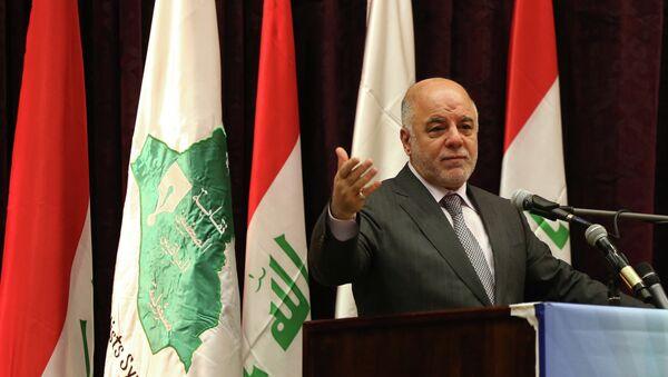 Iraqi Prime Minister Haider al-Abadi - Sputnik France