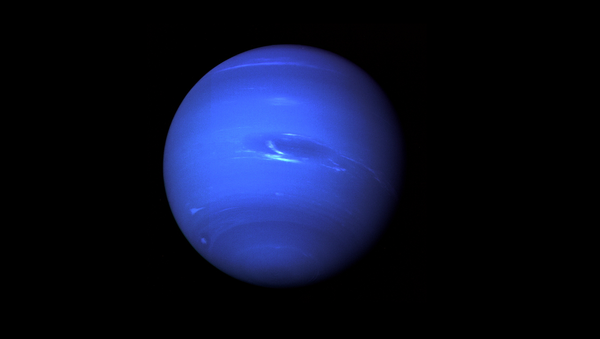 Neptune, the Eighth Planet from the Sun, Nicknamed The Windy Planet for its winds that can surpass 1,100 mph. - Sputnik France
