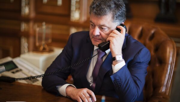Ukrainian President Petro Poroshenko. (File) - Sputnik France