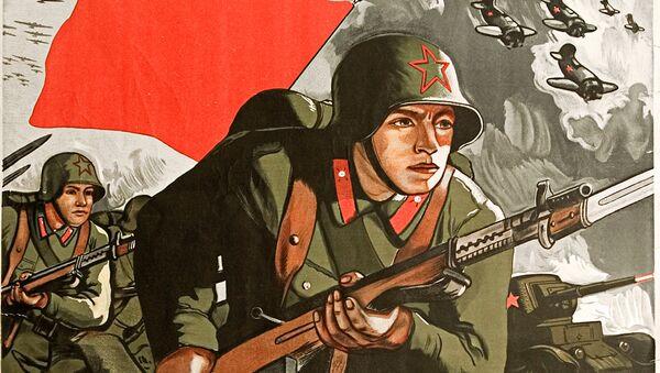 Pour la Patrie: l'Armée rouge dans les affiches soviétiques - Sputnik France