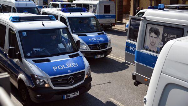 Des véhicules de la police allemande - Sputnik France
