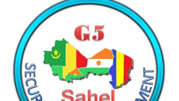 Logo Officiel du Secrétariat permanent du G5 Sahel - Sputnik France
