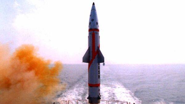 Indian Missile Dhanush - Sputnik France